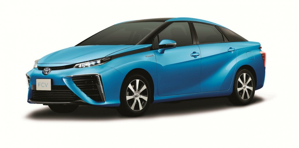 New Fuel-Cell Car Hits A Bump In Safety Rules