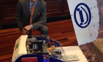 A 3D-Printing Roving Robot Could Repair Potholes