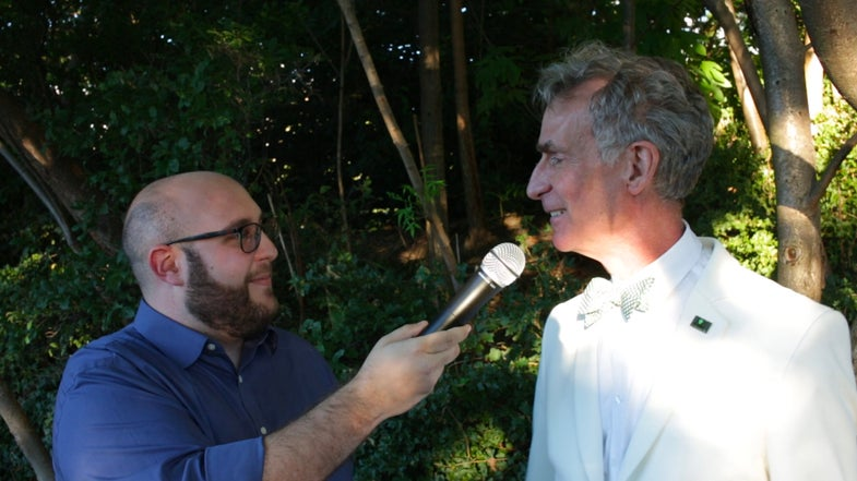 Jason Lederman and Bill Nye