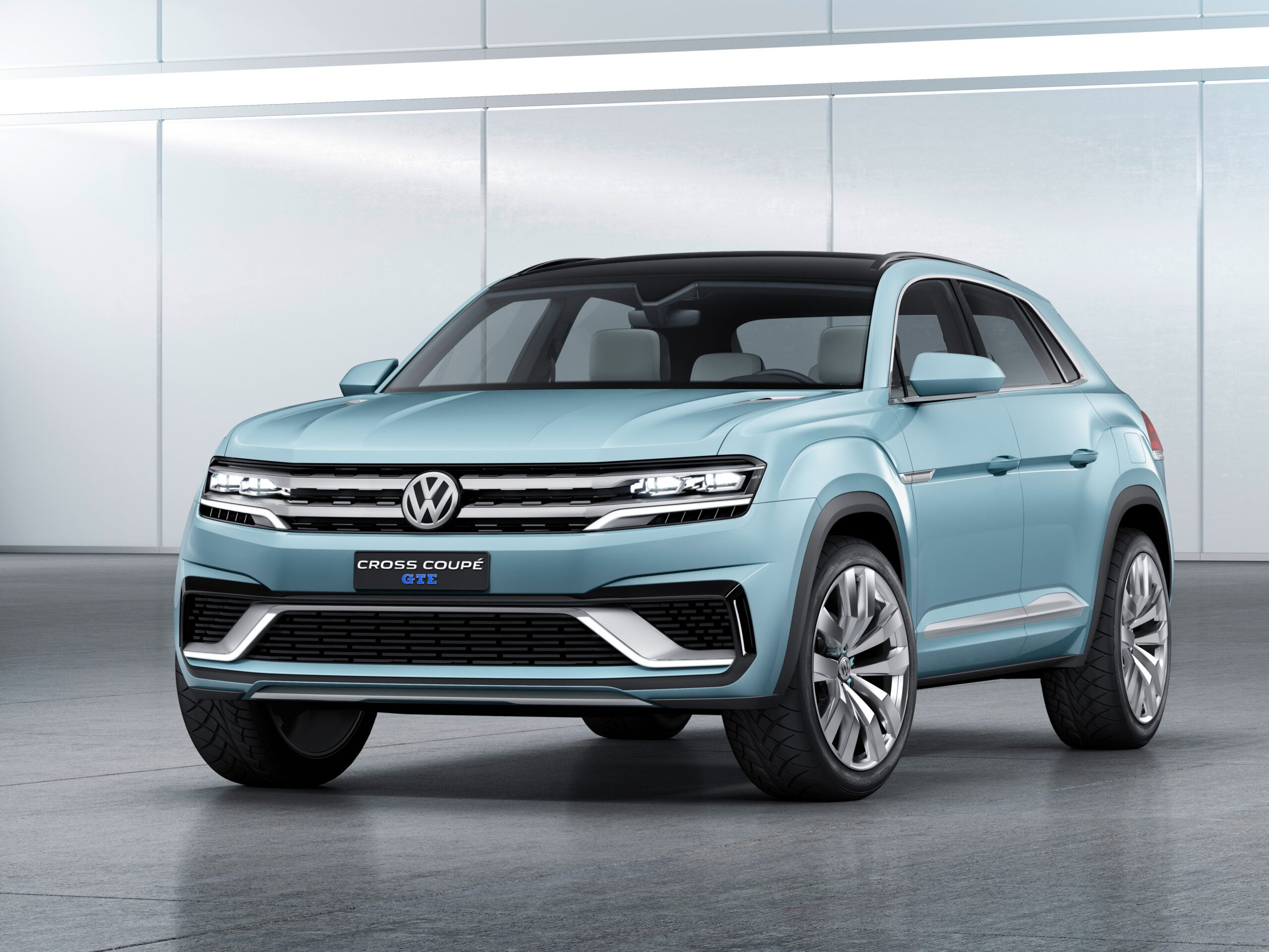 2015 Detroit Auto Show: Volkswagen Cross Coupe GTE: A Shape Of Things To Come