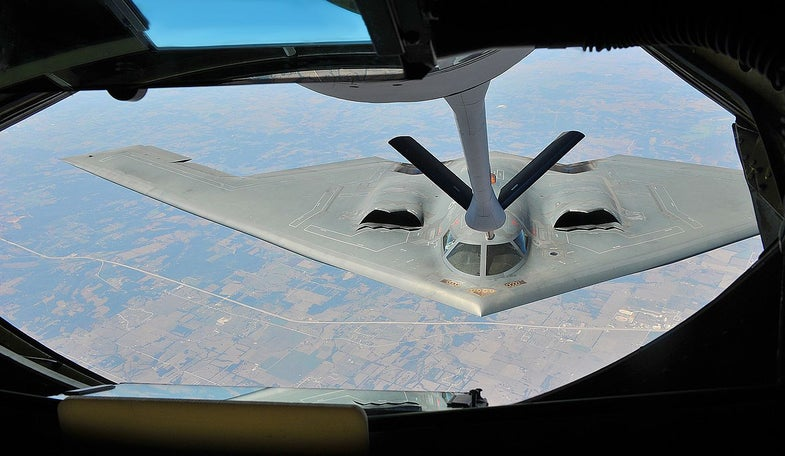 Air Force Commander Adds Stealth Tankers To Wish List