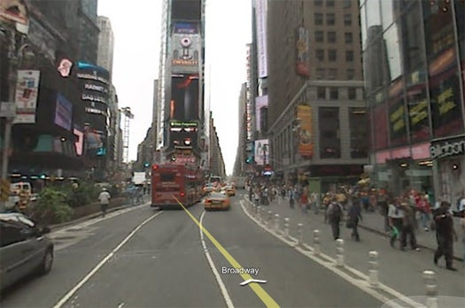 Dynamic Ads To Appear On Billboards In Google Maps Street View
