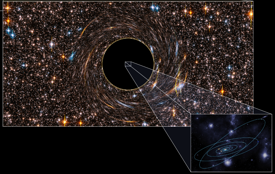 Two Behemoth Black Holes, the Largest Ever Discovered, Could Swallow Billions of Suns