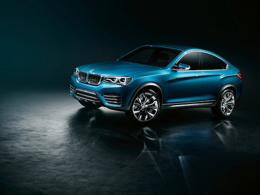 See The First Images Of BMW's Sleek New Concept X4