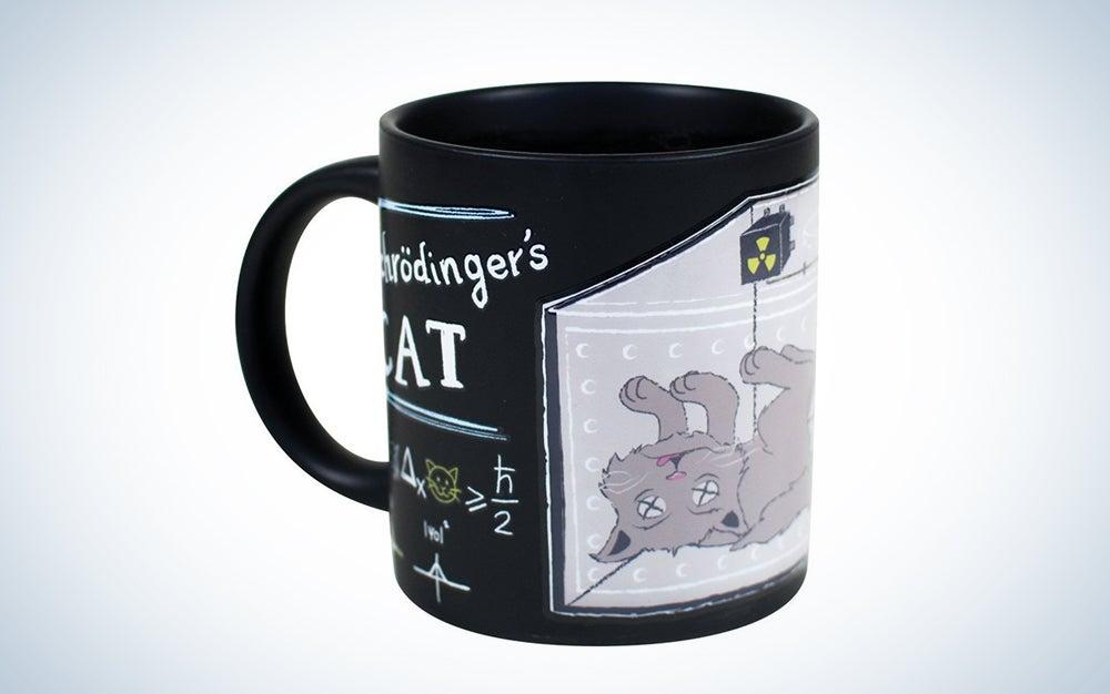 Schrödinger's Cat Heat Changing Coffee Mug Set