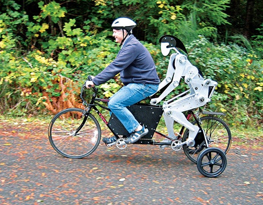 A Robot Buddy for Your Bicycle-Built-For-Two