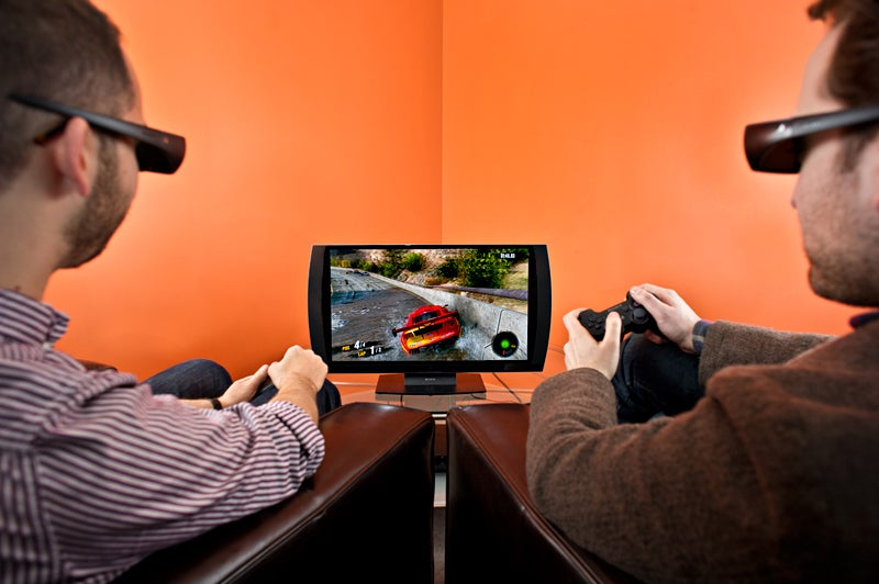 Testing the Best: Sony's 3-D TV Eliminates the Splitscreen