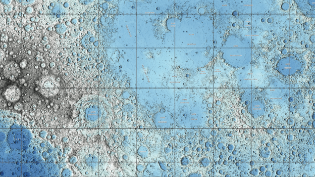 Moon Maps, Doughnuts In Space, And Other Amazing Images Of The Week