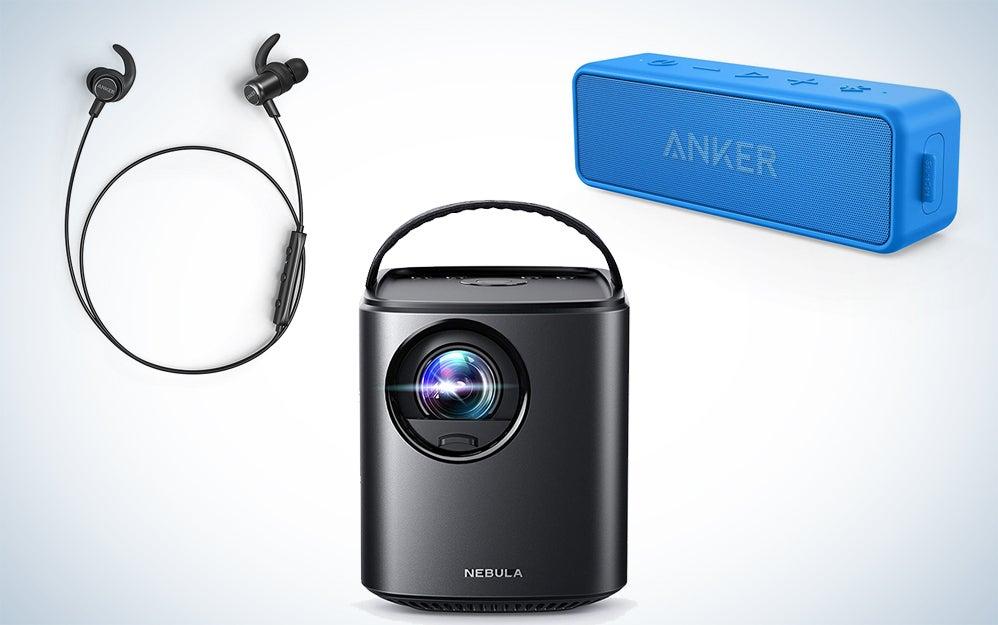 Anker Speakers, headphones, and projectors