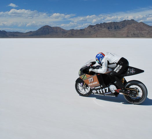 World's Fastest Electric Motorcycle Sets New Record