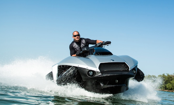 Video: The 'World's First High-Speed, Commercially Available Amphibious Vehicle'