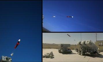 LOCUST Launcher Fires A Swarm Of Navy Drones