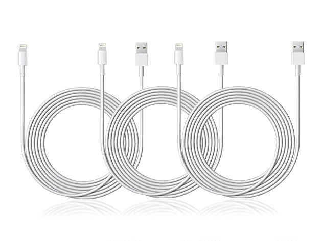 Get three extra-long lightning cables for the price of one