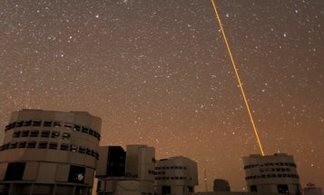 This Time Lapse Video of the Very Large Telescope At Work is the Coolest Thing You'll See Today