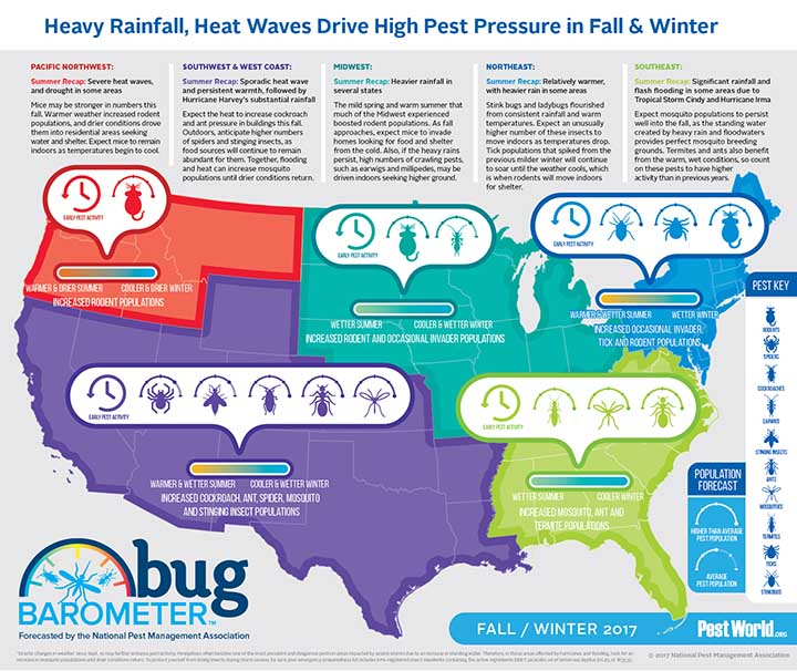 bug barometer map