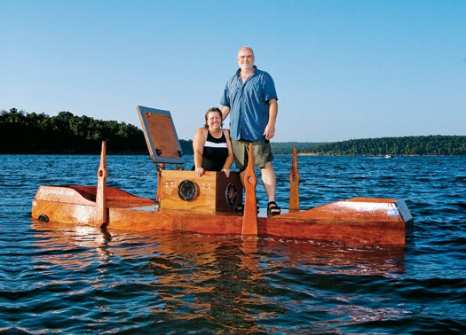 A Husband and Wife Build a 19th-Century Wooden Submarine