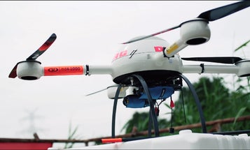 German Lifeguards Test A Low-Flying Drone To Save Swimmers
