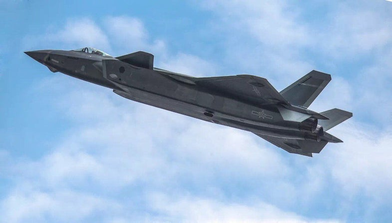 China's new stealth fighter uses powerful materials with geometry not found in nature