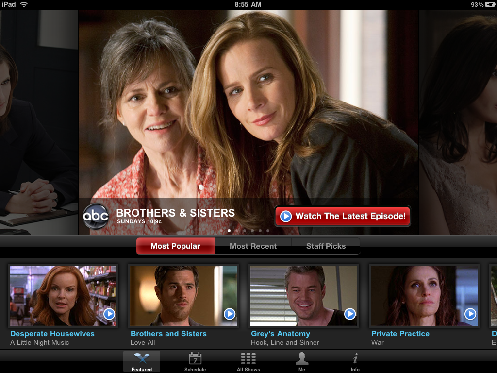 ABC's Rumored Streaming Video App Seems Pretty Awful
