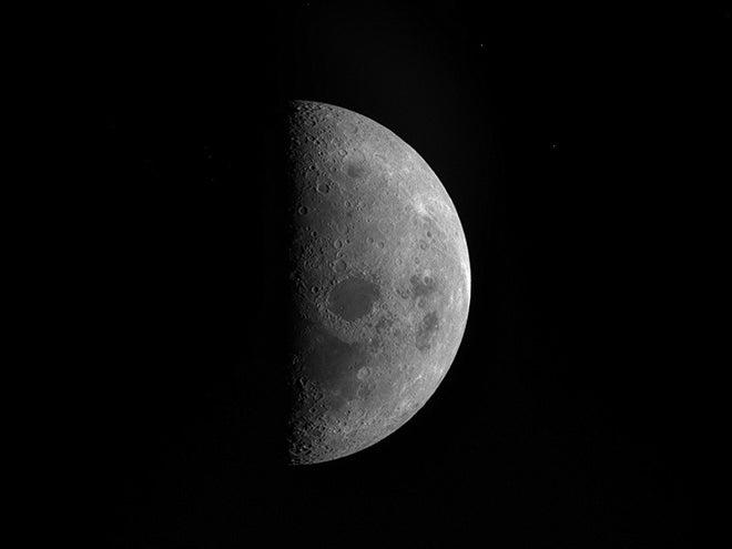 rosetta image of moon
