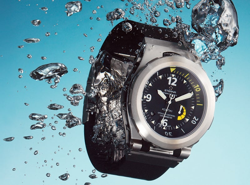 The Deep-Diving Watch