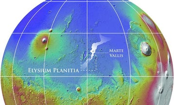 3-D Reconstruction Of Martian Surface Uncovers Lost Evidence Of Ancient Floods