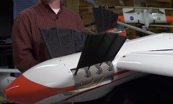 Watch The Navy's Amphibious Drone Land On The Sea