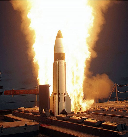 Obama's 'Proven' SM-3 Missile Interceptor May Only Succeed 20 Percent of the Time, Say Physicists
