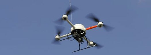 Google is Flying a Quadcopter Surveillance Robot, Says Drone Maker