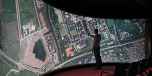 Video: 3-D Theater Becomes a 33-Foot-Long Touchscreen