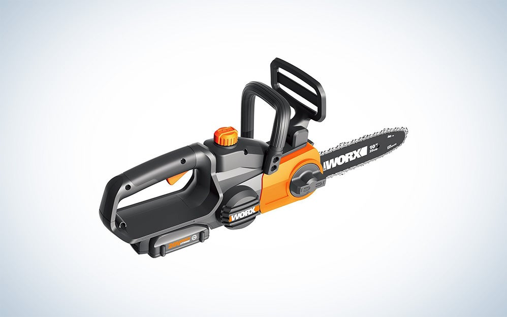 Work electric portable chainsaw