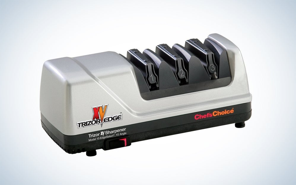 Chef'sChoice 15 XV professional electric sharpening tool.