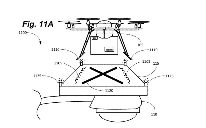Amazon Patent Lets Drones Perch On Streetlight Recharging Stations