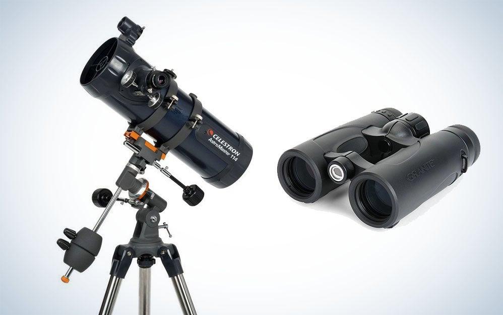 Celestron telescopes and binoculars