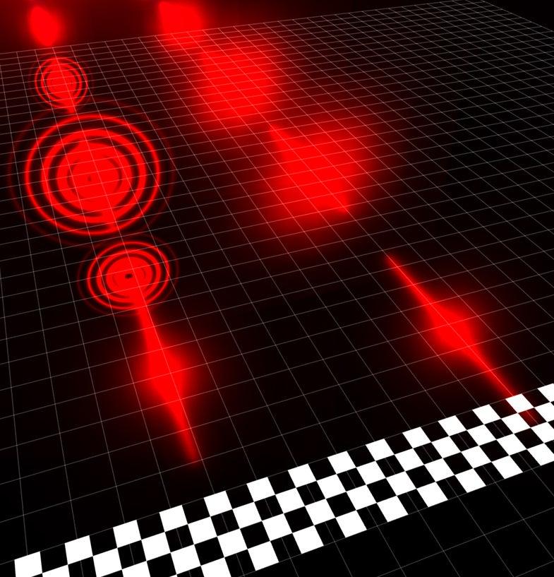 Photon race rendering