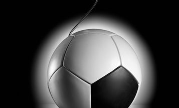 A Soccer Ball That Doubles as a Generator