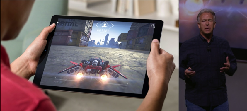 Apple iPad Pro presentation screenshot