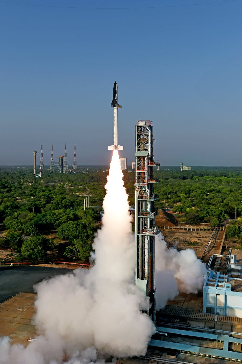 India Just Launched A Mini-Space Shuttle