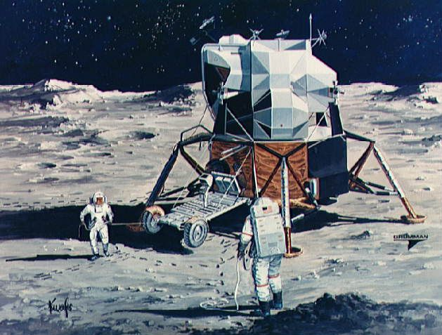 The Lunar Rover: Designing and Unpacking a Car on the Moon
