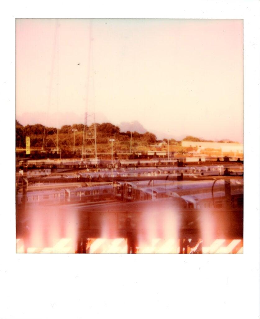 Polaroid Onestep+ sample landscape
