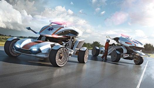 Future Drive Concept: Rapid Response 2.0