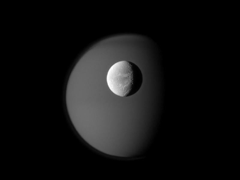 Cassini's Latest Work of Art