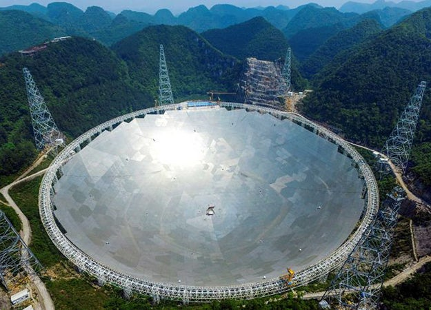 World's Biggest Radio Telescope Joins The Search For Alien Life
