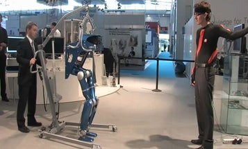 Video: German Space Agency Builds New Bipedal Robot