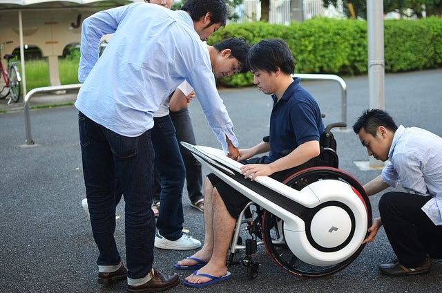 Video: WHILL Turns Ordinary Wheelchairs Into Electric Superchairs