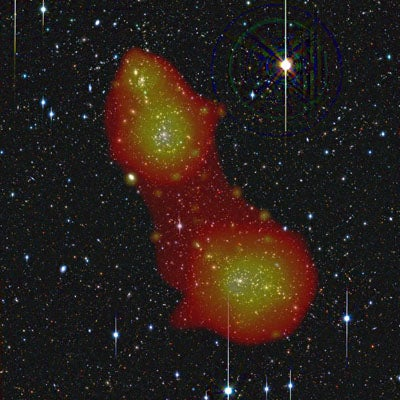 Astronomers Discover Missing Mass