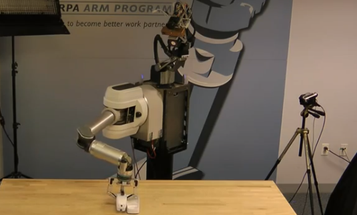 Meet Your New Robot Receptionist, the DARPA ARM 'Bot