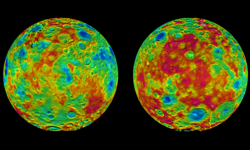 Ceres' Mountains And Craters Now Have Names