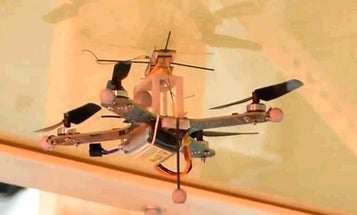 Gecko-Like Drone Can Land On Walls And Ceilings [Updated]