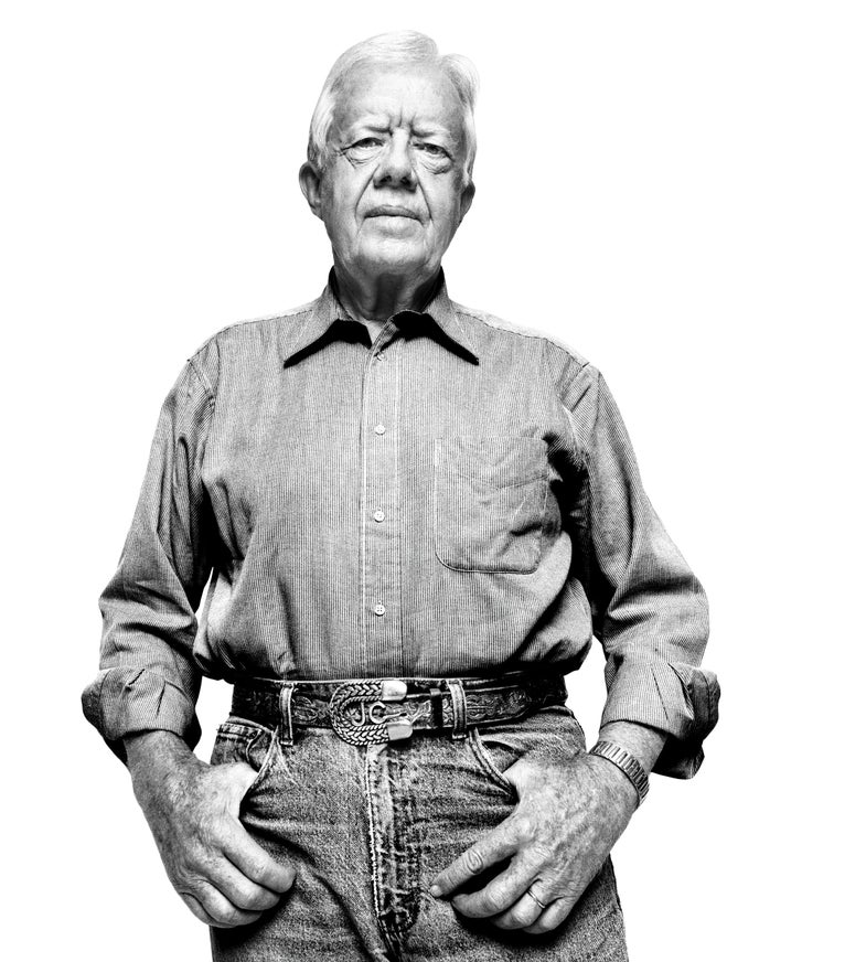 Jimmy Carter, Starting Cancer Treatment, Continues To Fight Global Disease